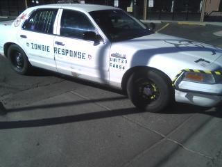 Zombie Crown Vic retired Police interceptor | Zombie ...
