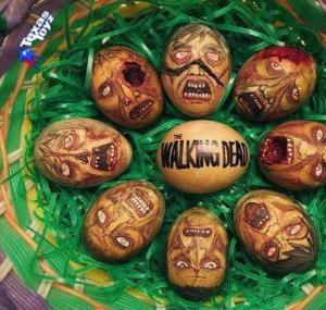 Walking Dead Easter Eggs (from Texas Toyz in Corpus Christi, TX)