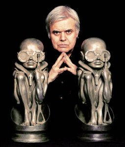 Portrait of H.R. Giger copyright 1998 by Dana Frank/NYC from hrgiger.com