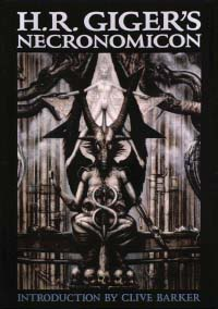 """The Dali Edition of """"H.R. Giger's Necronomicon"""" (Please note this work is copyrighted by the artist/author and is used here only under US """"fair use"""" guidelines)"""