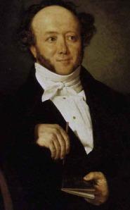 Albert Bitzius  (Jeremias Gotthelf) circa 1844