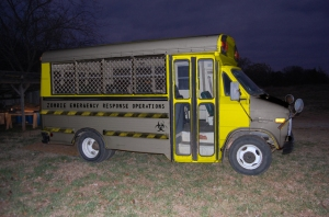 Zombie Bus Mock Up warningsides from zombiehunters.org