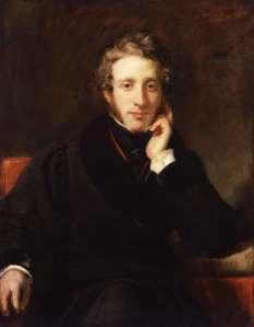 Sir Edward Bulwer-Lytton, First Baron Lytton Portrait by Henry William Pickersgill