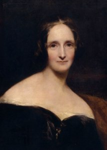 Mary Shelley, 1840 Portrait by Richard Rothwell