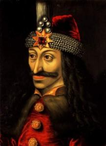 Portrait of Vlad Tepes  (Vlad the Impaler)  from Ambras Castle, Austria, 16th century Believed to have been copied from a lost original. Source:  Wikimedia