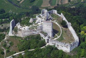 Cachtice Castle From Wikimedia Commons Photo by Civertan