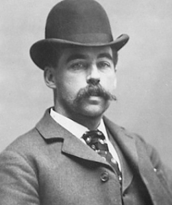 Herman Webster Mudgett a.k.a. H.H. Holmes. From Wikipedia.