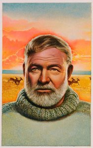 Ernest Hemingway Thought I do not know who the creator of this work is, I must ask that you respect their copyright.