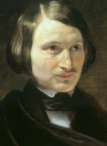Portrait of Nikolai Gogol circa 1840 from Wikipedia