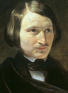 Portrait of Nikolai Gogol circa 1840 from Wikipedia