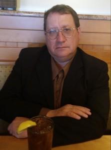 With Iced Tea, Farmington, New Mexico, March 20, 2015