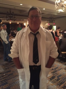 "At ""A Literary Affair"" charity dinner in Farmington, NM, as Herbert West, September 12, 2015."