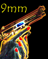 9mm Computer Graphic by Phil Slattery