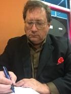Writing at Hasting's Hardback Café, October, 2015