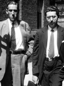 HP Lovecraft (L) with Frank Belknap Long (R), 1931