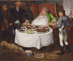 Der Voeller (the glutton) by Georg Emanuel Opiz, 1804
