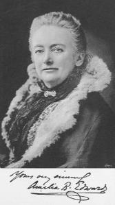 Amelia B. Edwards, 1890