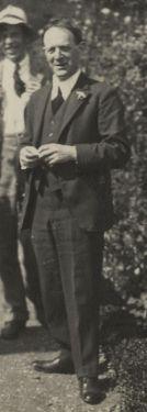 Walter de la Mare June, 1924 from the National Portrait Gallery