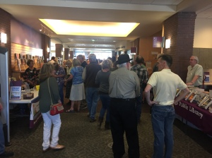 Photo of the crowd at the Durango Literary Festival, May 4, 2017