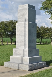Photo of Monument to Japanese-Americans interned at Rohwer.